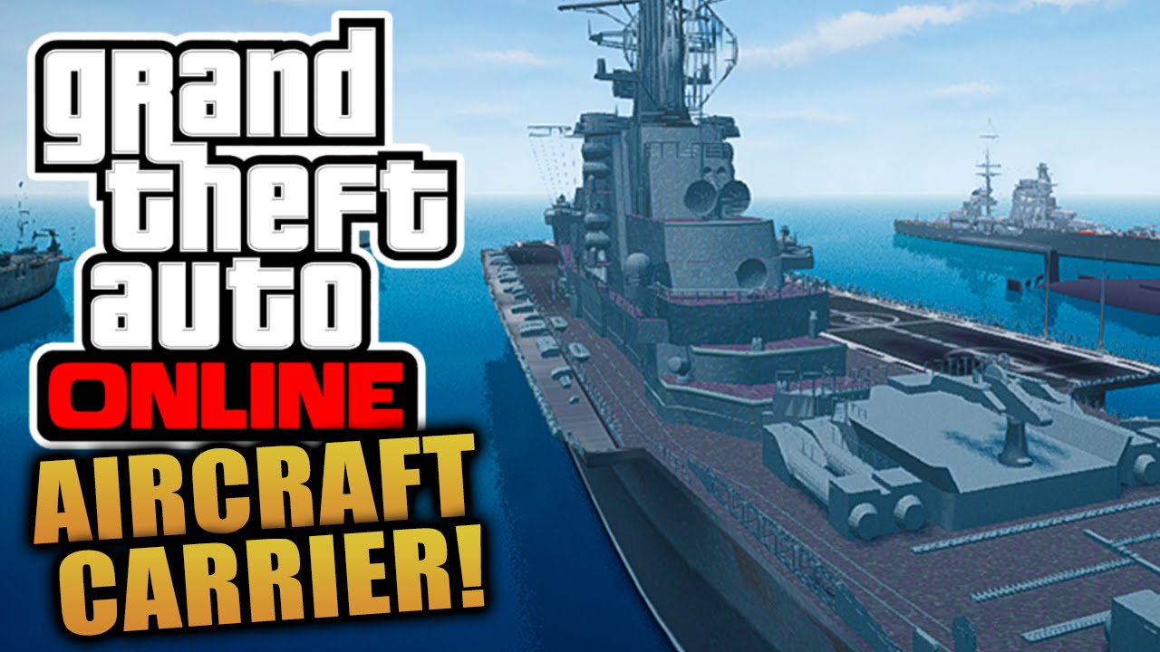 GTA Online Aircraft Carrier INTERIOR LOCATION - Location of us aircraft carriers map