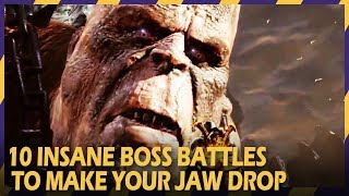 Video 10 insane boss battles that will make your jaw drop download MP3, 3GP, MP4, WEBM, AVI, FLV November 2017