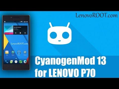 CyanogenMod 13 Lenovo P70