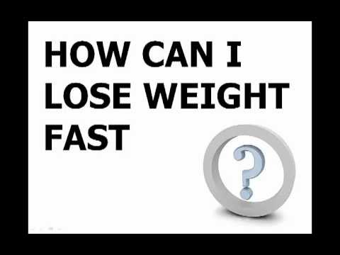 how can i lose weight fast 7day weight loss miracle