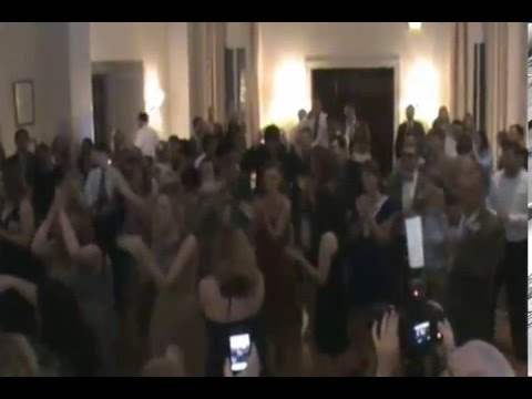 Surprise Flash Mob dance at Mary Jane and Neil's wedding 5/19/2012