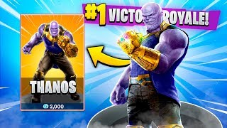 THANOS ANNOUNCED COMING TO Fortnite Battle Royale! (Fortnite Battle Royale)