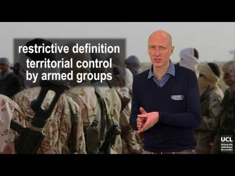 High-intensity non-international armed conflicts