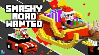 SMASHY ROAD: WANTED - Christmas Update! Santa Trolling Police