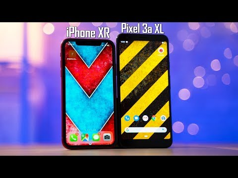 Pixel 3a XL vs iPhone XR - In-Depth Comparison!
