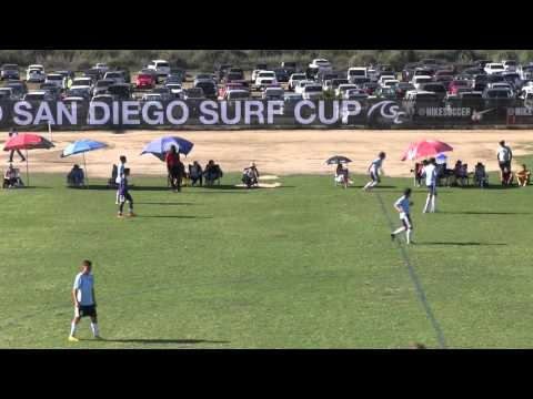 ANDROMEDA FC PRE ACADEMY vs  LA PREMIER FC WHITE BU17 SURF SUPER CUP