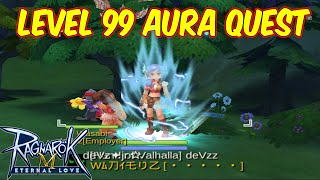 Aura in thumbnail only edited Guide how to obtain aura for lvl 99 ....
