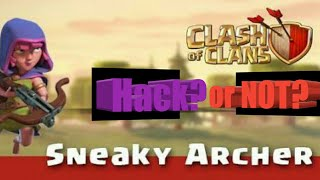 Sneaky Archer tricks and tips| Clash of Clans