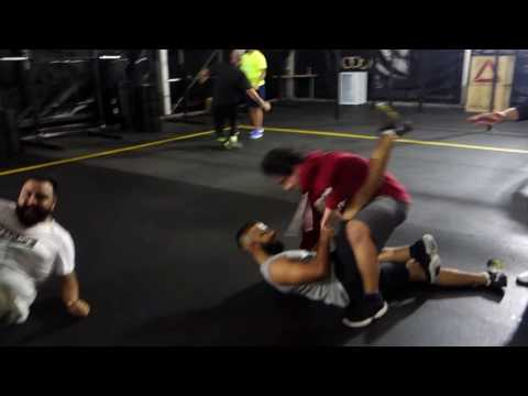 MMA skills with yoga at the end - Wolf Pack Fitness, Ajman - UAE