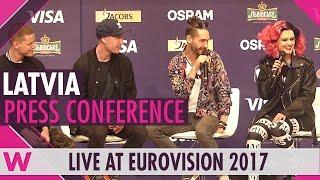 Latvia Press Conference — Triana Park