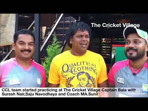 AMMA KERALA STRIKERS Cricket Practice (CCL) Celebrity Cricket League..