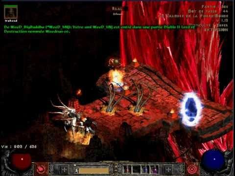 Diablo II Lord Of Destruction - Perf Fire DMG - Read Description