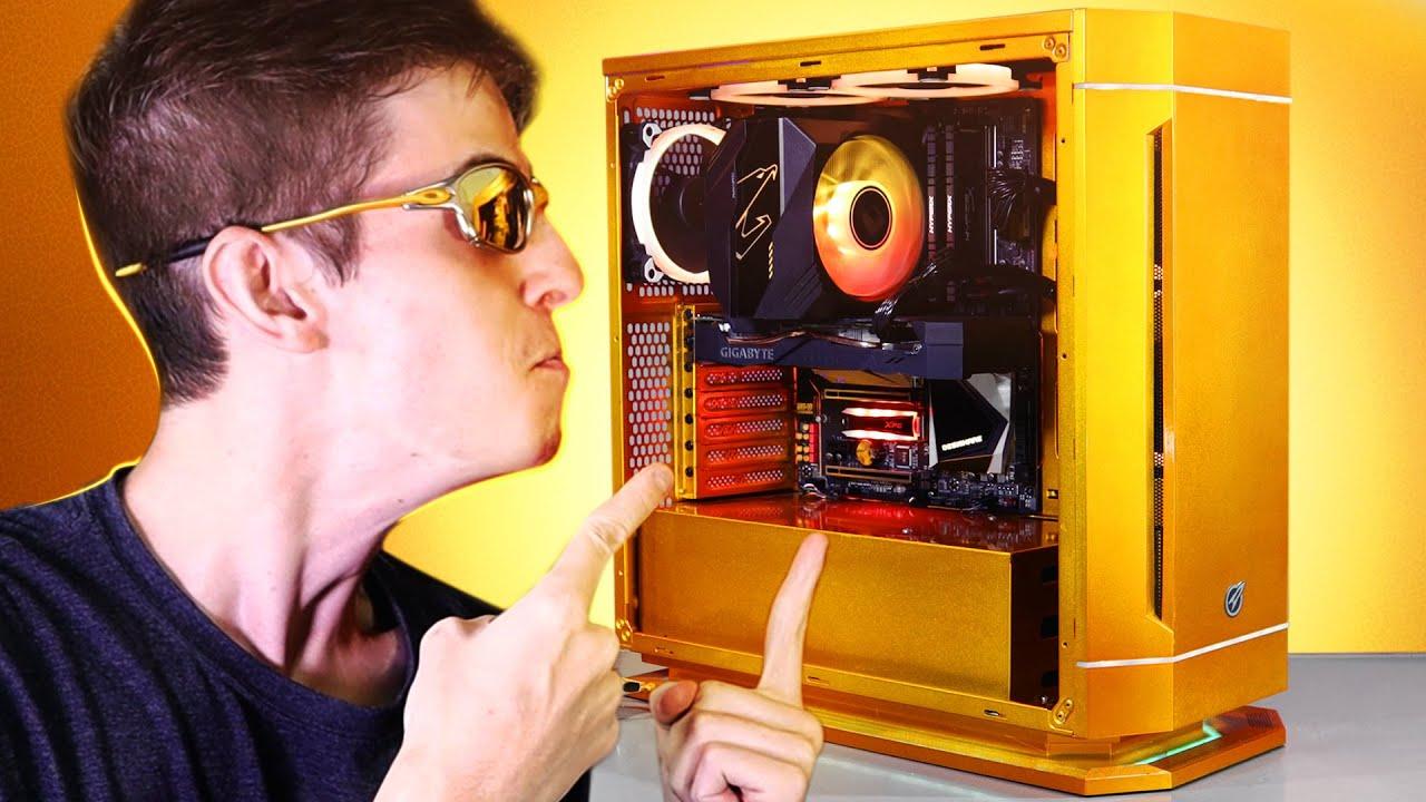 Fiz um computador PURE GOLD 24K