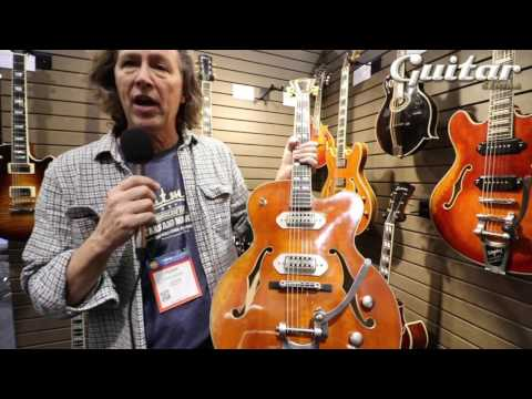 NAMM 2017: Eastman Guitars' new models for 2017