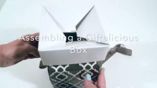 Assembling a Giftalicious Box