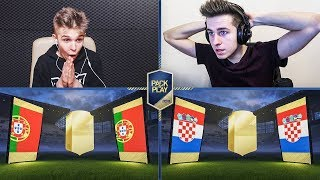 CO ZA PACK'N'PLAY! PABLO VS ADRYAN! FIFA 18 ULTIMATE TEAM