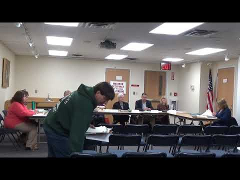 March 28, 2018 Franklin Square Library Board Meeting (budget hearing)