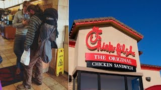 Homeless Man Begs for Scraps Only to Have Chick-Fil-A Manager Say No, and Take Action
