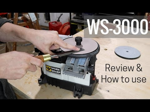 The BEST way to sharpen your woodworking tools (WS-3000)