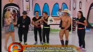 Daarpop Boys - Programa da Eliana do SBT - 22/07/2012