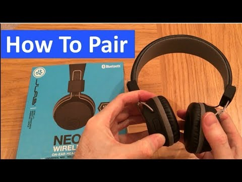 How To Pair Connect Jlab Wireless Headphones Problem Fixed Youtube
