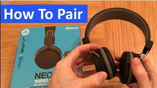 How to Pair / Connect JLAB Wireless Headphones   Problem Fixed