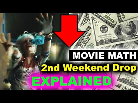 Box Office for Suicide Squad - 2nd Weekend Drop, Open Letter to Warner Bros
