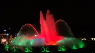 The Magic Fountain of Montjuïc - Barcelona/Spain 04/01/2014