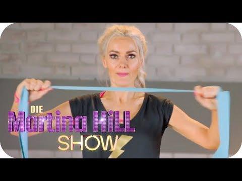 Fitness Workout für die Ohren: Jamie Powers zeigt euch wie! | Die Martina Hill Show | SAT.1 TV