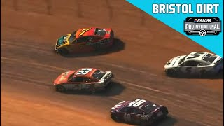 eNASCAR iRacing Pro Invitational Series Full Race Replay : Bristol Dirt