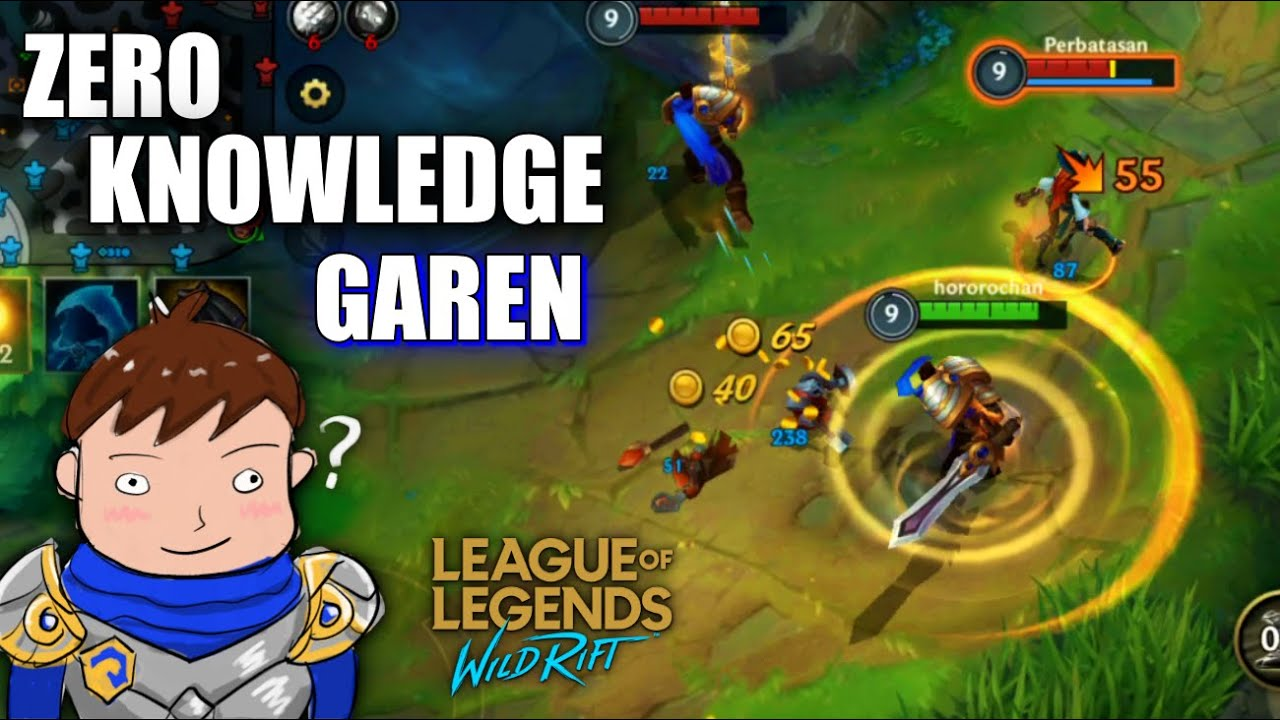 HOW TO GAREN | MY FIRST GAME IN WILD RIFT!