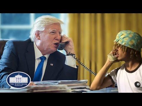 Donald Trump Calls Lil Pump