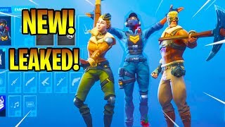 *NEW* Fortnite Leaked Skins & Emotes (Backstroke, Cat Flip, Point It Out, Accolades...)!