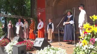 """00012 Folkloras diena """"Novadu sasaukšanās"""" uz Vērmanes dārza lielās skatuves 7.07.2018"""