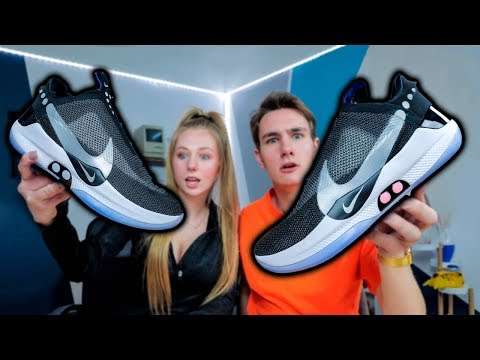 My Sister Bought The $350 Self-Lacing Nike Adapt BB