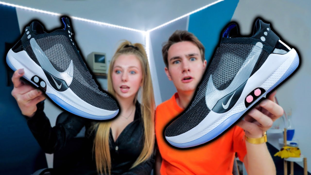 official photos 0352d 105ce My Sister Bought the  350 Self-Lacing Nike Adapt BB