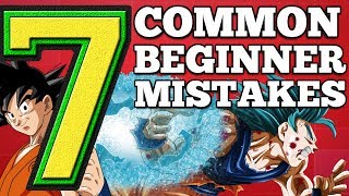 7 Common Mistakes Beginners Make! Dragon Ball Super Card Game