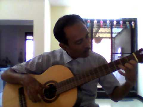 Flamenco Guitar Escalas in C Major