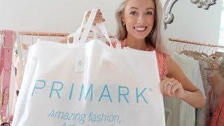 PRIMARK HAUL + Try On SUMMER 2018 🌼 #FashionMumblrSummerEdit