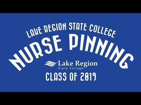 Lake Region State College Nurse Pinning Class of 2019