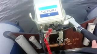 Suzuki DT8 + ГРУПЕР 330 (33 кмч)(Мгновенный выход на глиссер., 2016-09-26T13:43:54.000Z)