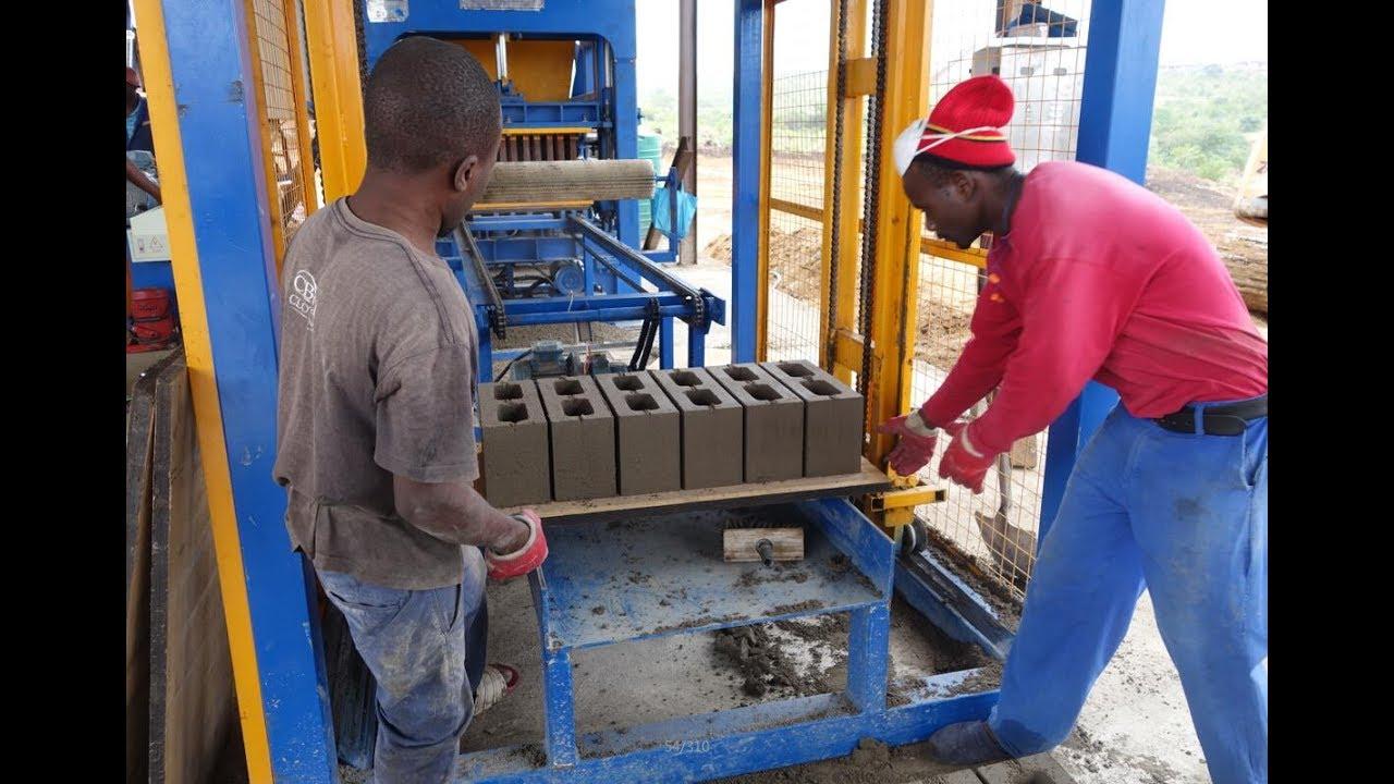 Precio maquina para fabricar hacer bloques block ladrillos for Precio de ladrillos