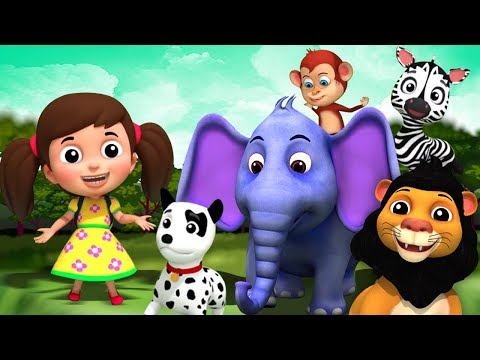 बच्चों के लिए बालगीत  | बच्चों के लिए कार्टून | Kids Channel India Videos For  Toddlers