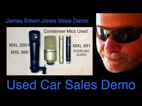 VOICE-OVER DEMO 5 - USED CAR SALES - James Edwin Jones