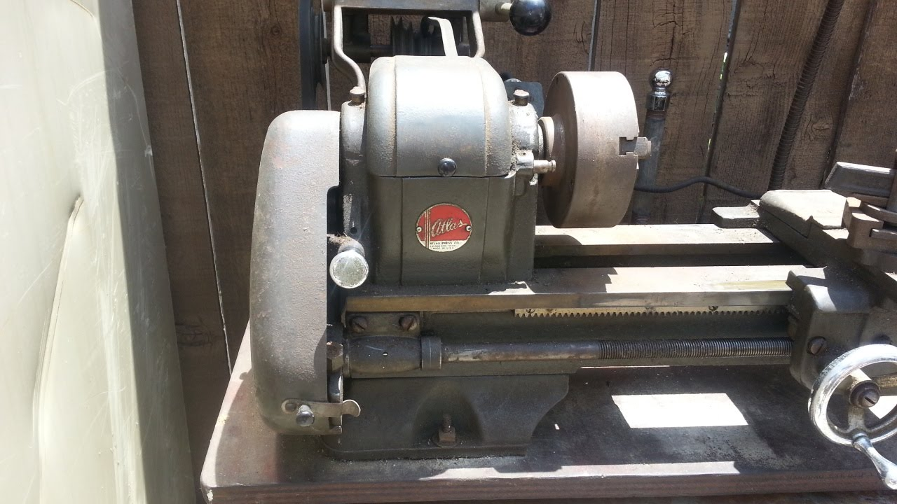 Atlas Model 618 Lathe