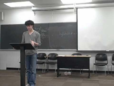 Brandon sincere lecturer