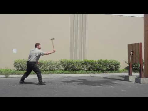 See the Cold Steel Trail Hawk Throwing Axe in Action
