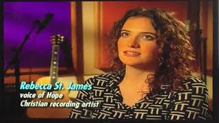 """Rebecca St. James talks about """"Hope's Song"""""""