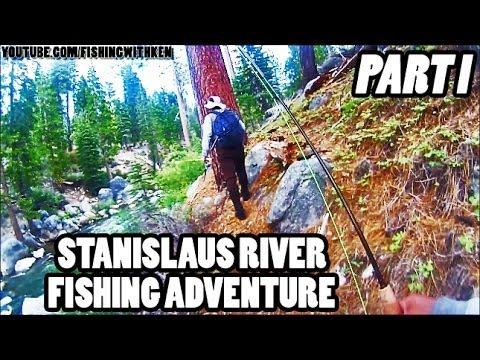 FishWithKen: [Part 1] Stanislaus River Fishing Adventure [May 2013]