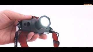 Налобный фонарик с мощным аккумулятором